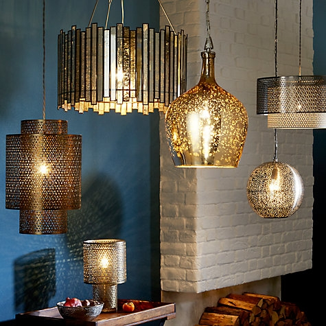 Brilliant Trendy John Lewis Lighting Pendants With Regard To Ewa 9ct Gold Buttercup Necklace Lighting Online John Lewis And (Image 3 of 25)