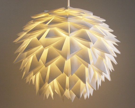 Brilliant Trendy Paper Pendant Lamps Pertaining To 117 Best Lighting Images On Pinterest (Image 8 of 25)