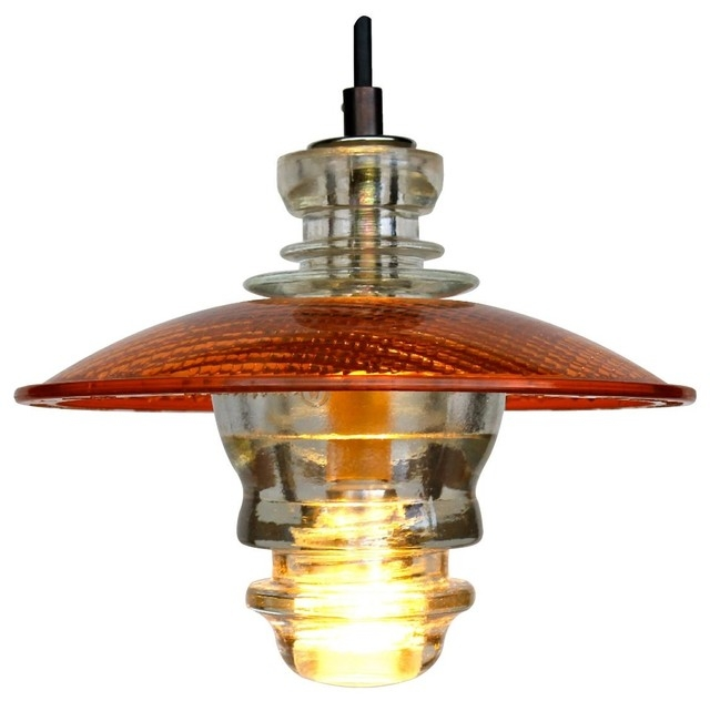 Brilliant Trendy Railroad Pendant Lights With Insulator Led Pendant Lantern Industrial Pendant Lighting (Image 7 of 25)