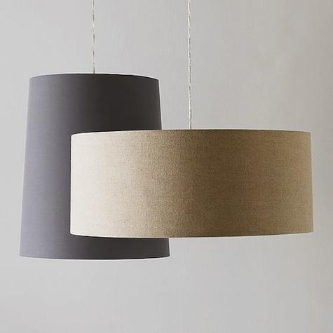 Brilliant Trendy West Elm Drum Pendants Pertaining To Lighting New Drum Pendants At West Elm Remodelista (Image 5 of 25)