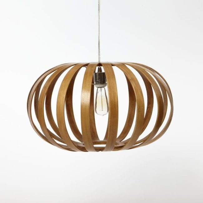Brilliant Unique Bent Wood Pendant Lights Regarding Diy West Elm Inspired Bentwood Pendant Light Do It Yourself (Image 8 of 25)