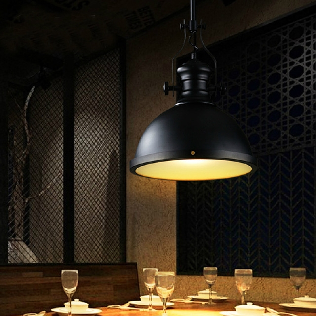 Brilliant Unique Restaurant Pendant Lights Within Aliexpress Buy Industrial Style Pendant Lighting Restaurant (Image 5 of 25)