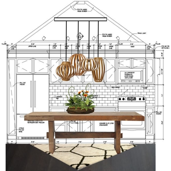Brilliant Well Known Bentwood Pendant Lights For West Elm Bentwood Lights Polyvore (Image 6 of 25)