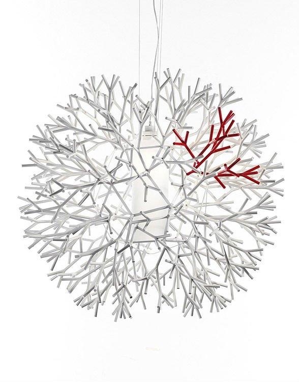 Brilliant Well Known Coral Replica Pendant Lights Regarding Replica Lagranja Coral Lamp Whitered (View 10 of 25)