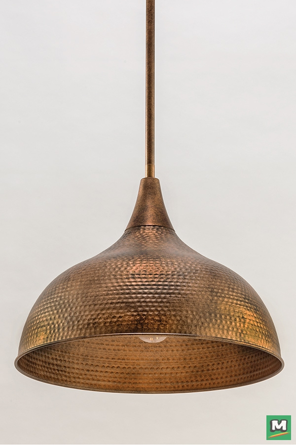 Brilliant Wellknown Patriot Pendant Lighting With Regard To Patriot Lighting Diego Pendant Light With Hammered Copper Finish (Image 9 of 25)