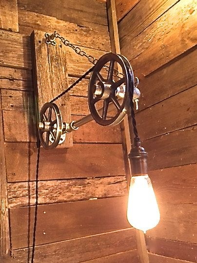 Brilliant Wellliked Reclaimed Light Fittings Regarding Best 25 Pulley Light Ideas On Pinterest Pulley Vintage (Image 10 of 25)