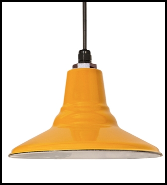 Brilliant Wellliked Retro Pendant Lights For Porcelain Enamel Lighting For A Retro Inspired Look Blog (Image 7 of 25)