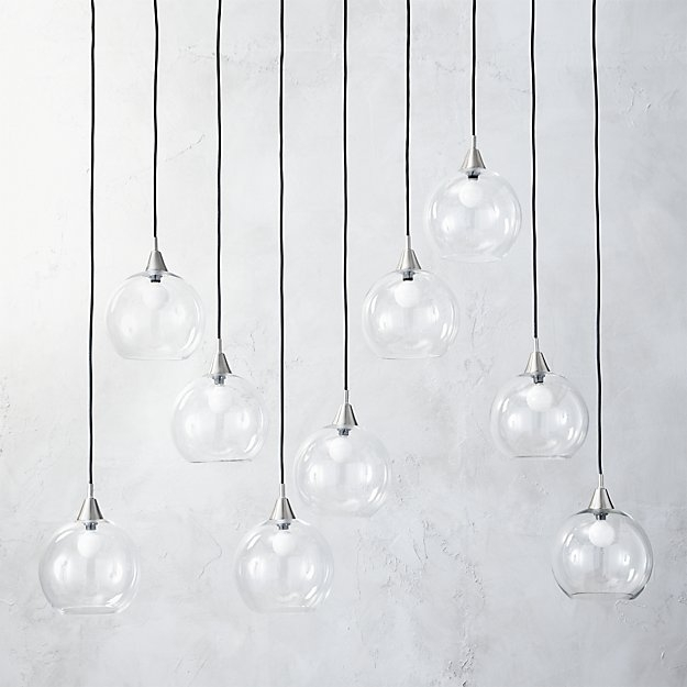 Brilliant Widely Used Cb2 Pendant Lights Throughout Firefly Ii Globe Light Pendant Cb (Image 7 of 25)