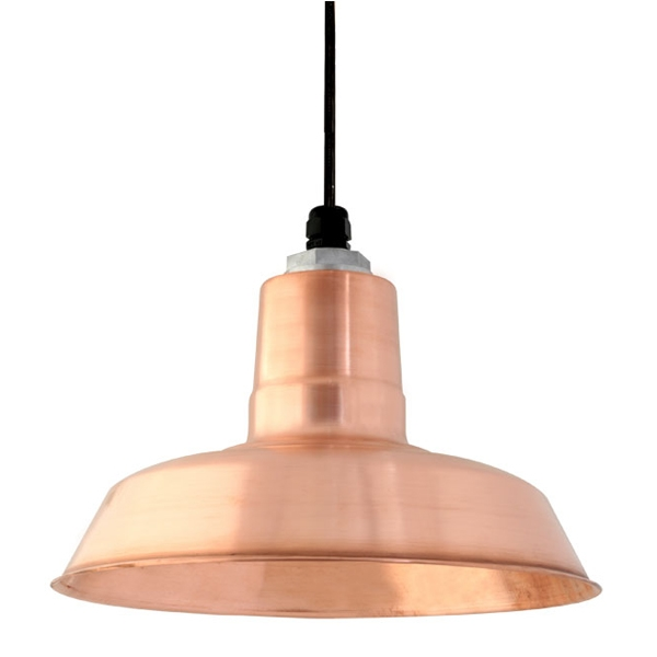 Brilliant Widely Used Copper Pendant Lights With Original Led Barn Light Pendant Barn Light Electric (Image 9 of 25)