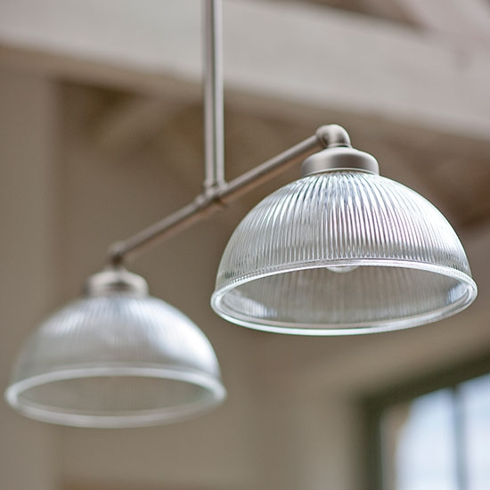 Brilliant Widely Used Double Pendant Lights For Kitchen Throughout 8 Pendant Lights To Brighten Your Country Kitchen Ideal Home (Image 7 of 25)