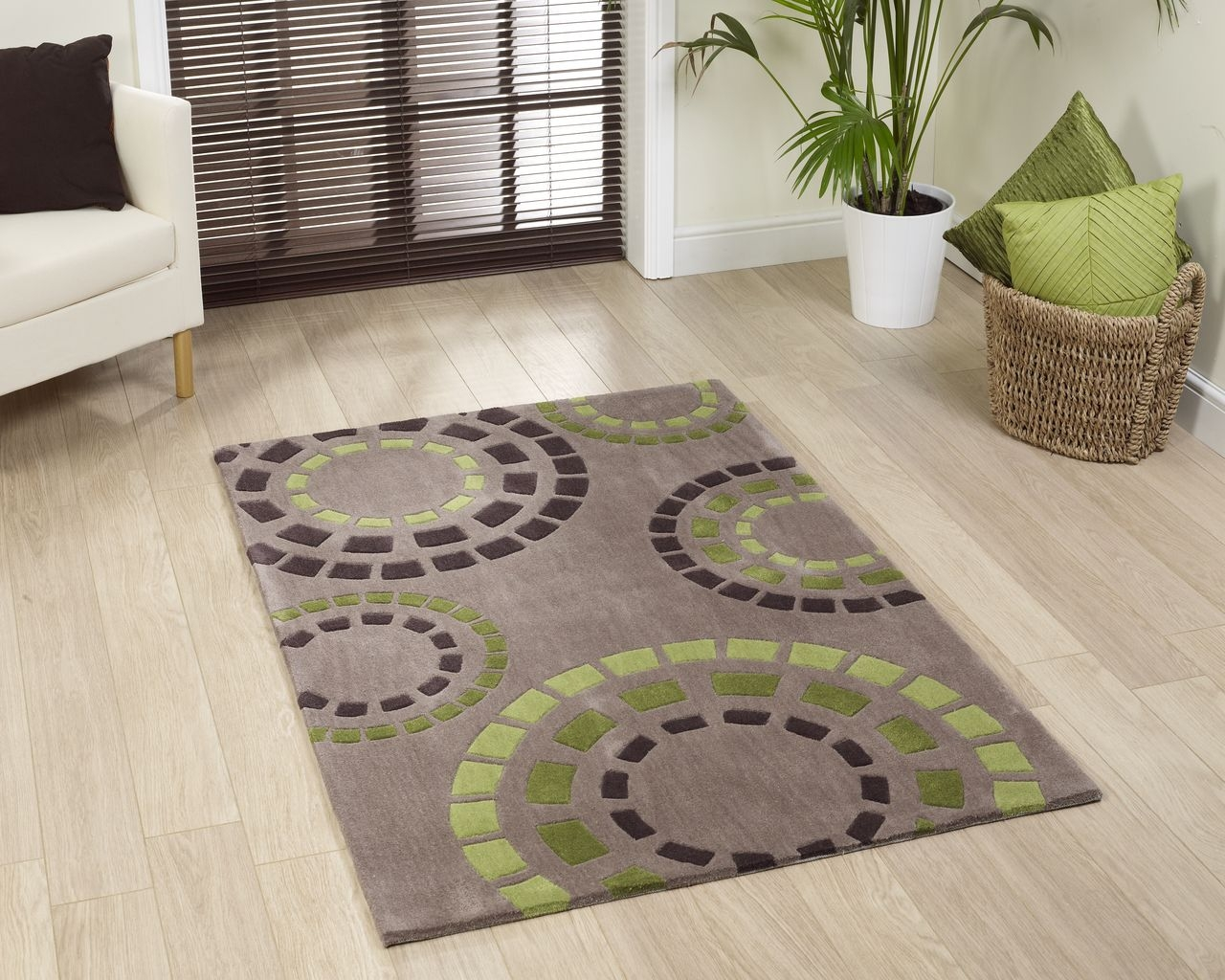 Brown And Green Area Rugs Room Area Rugs Contemporary Ikea Throughout Green And Brown Rugs (Image 2 of 15)
