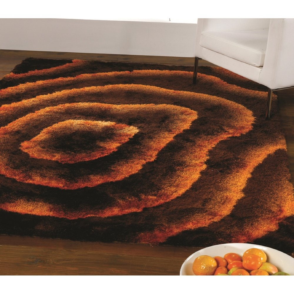 Brown And Orange Rugs Roselawnlutheran With Regard To Brown Orange Rugs (Image 4 of 15)