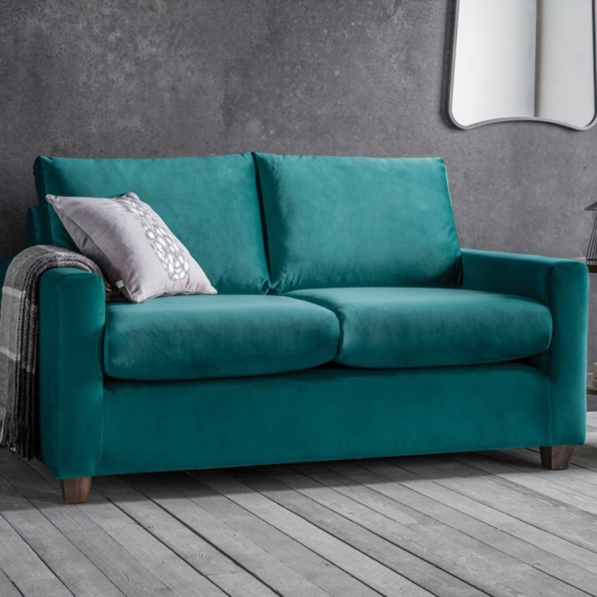 Brussels Petrol Stratford Sofa Seating Online At Homesdirect365 Throughout Stratford Sofas (Image 1 of 15)