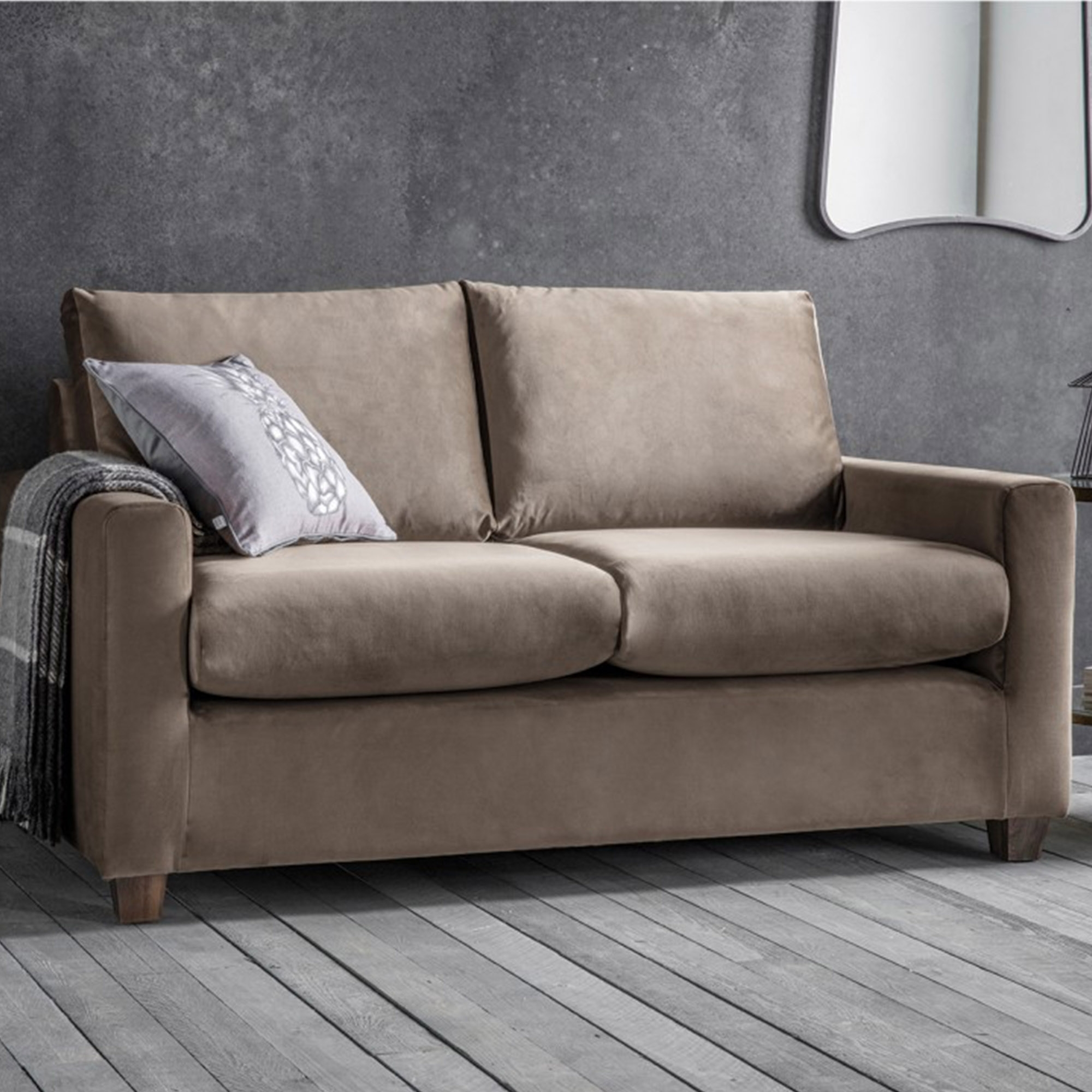 Brussels Taupe Stratford Sofa Seating Online At Homesdirect365 Regarding Stratford Sofas (Image 3 of 15)