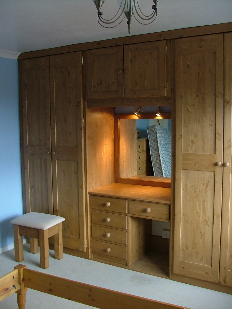 Built In Bedroom Closet Ideas Google Search Home Ideas Regarding Table Cupboards (Image 6 of 25)
