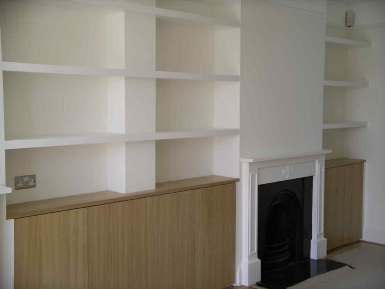 Built In Cupboards Bespoke Design Peter Henderson Furniture For Fitted Shelves And Cupboards (Image 1 of 15)