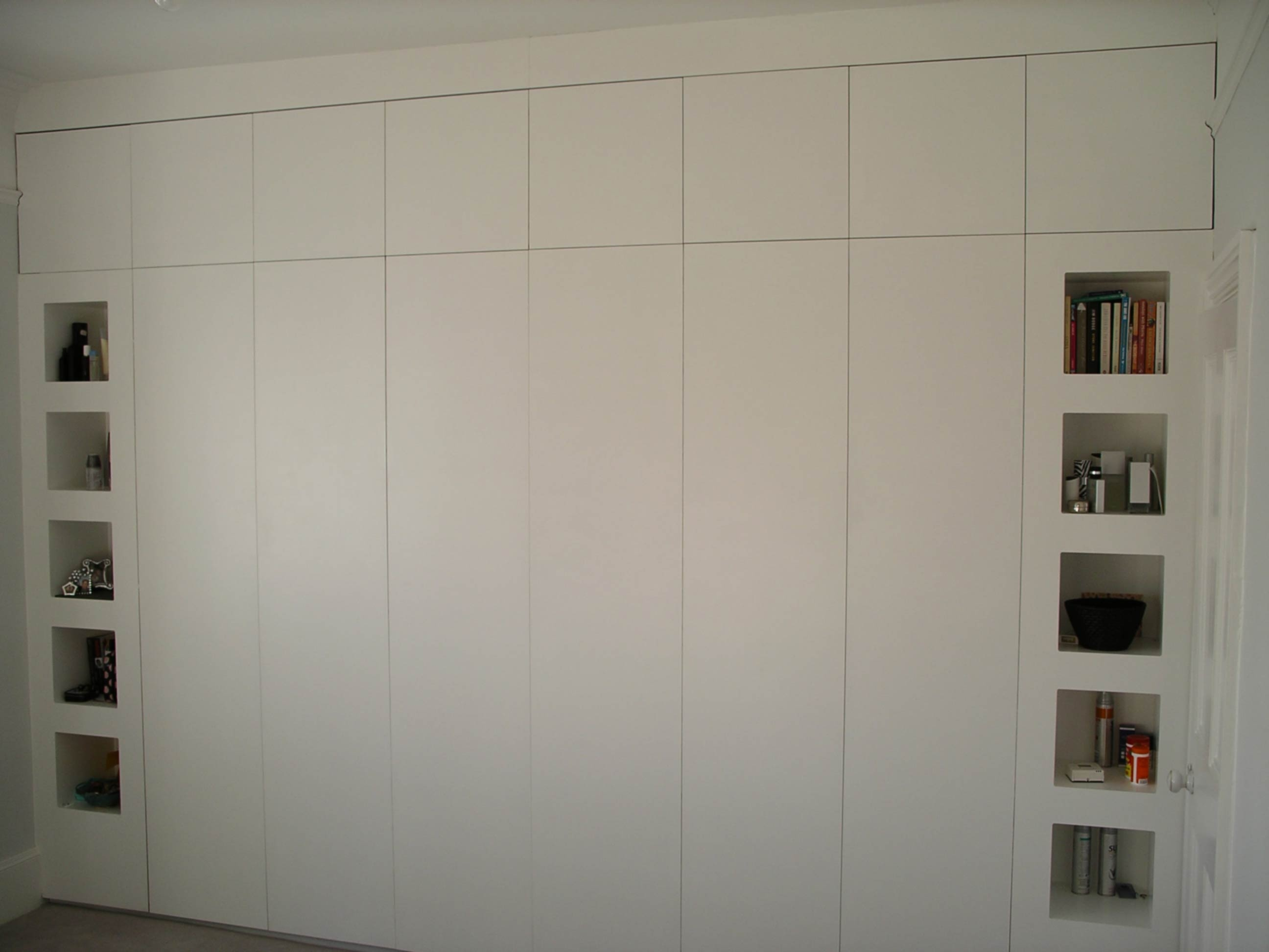 Built In Wardrobe Peter Henderson Furniture Brighton Uk Within Bespoke Cupboards (Image 7 of 15)
