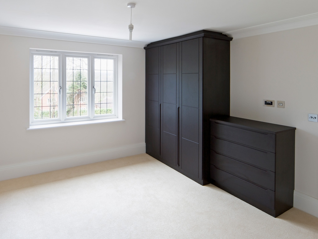 Built In Wardrobes Custom Fitted Wardrobes In Dublin Intended For Dark Wood Wardrobes (Image 3 of 15)