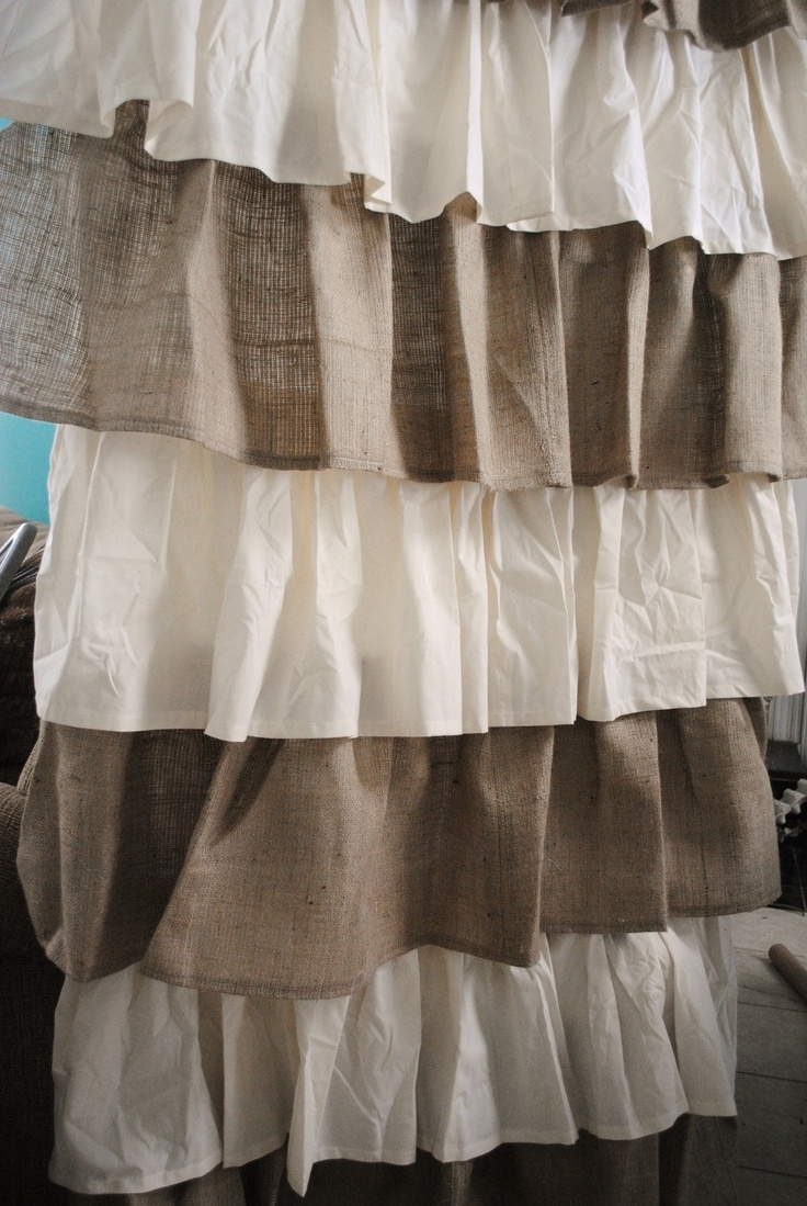 Burlap Curtains Picture Burlap Curtains Ideas Design Ideas And Throughout Burlap Curtains (Image 6 of 25)