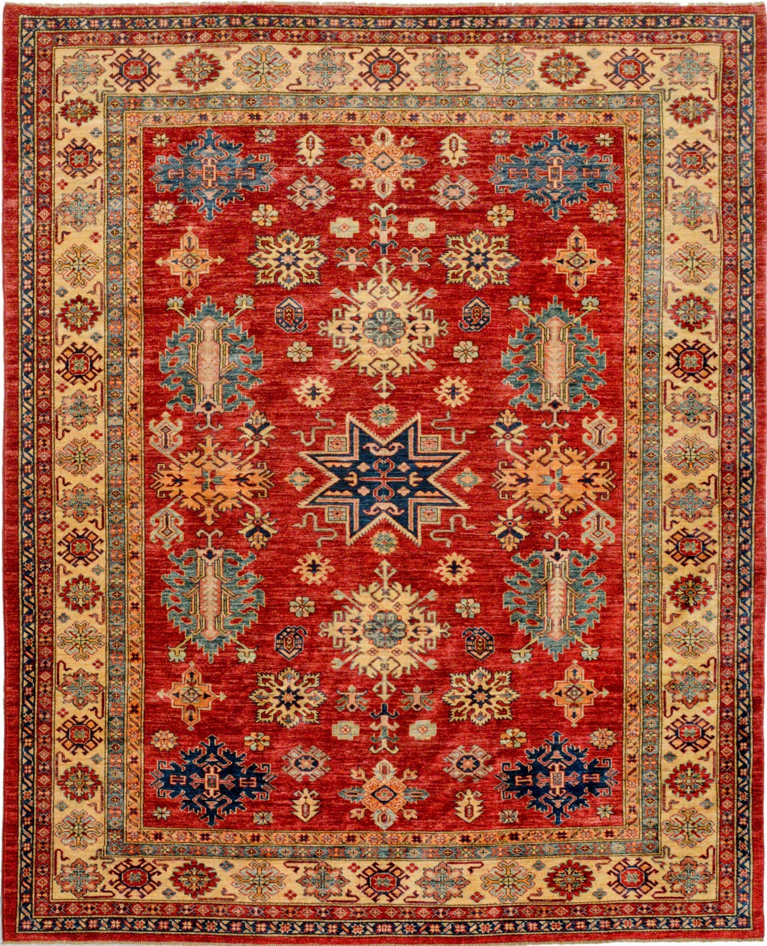 Butterfly 7 11 X 9 11 Ft No 27901 Oriental With Afghan Rug Types (Image 9 of 15)
