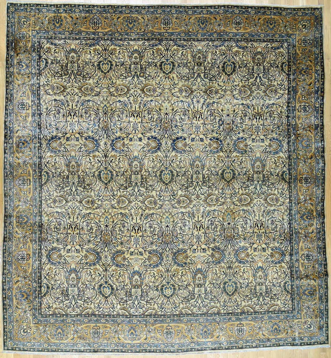 Buy Authentic Hand Knotted Persian Rugs 5000 And Up From Oldcarpet For Green Persian Rugs (Image 7 of 15)