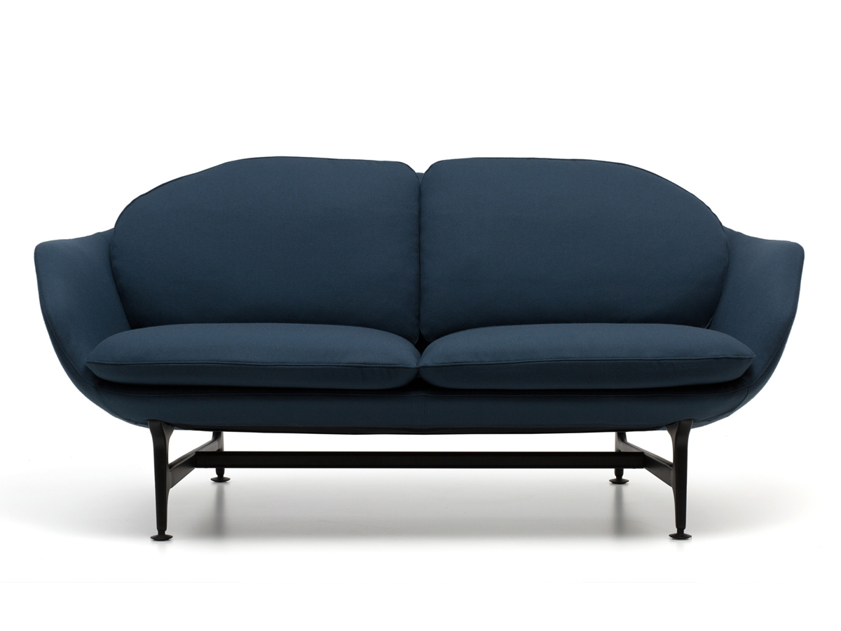 Buy The Cassina 399 Vico Two Seater Sofa At Nestcouk Inside Two Seater Chairs (Image 2 of 15)