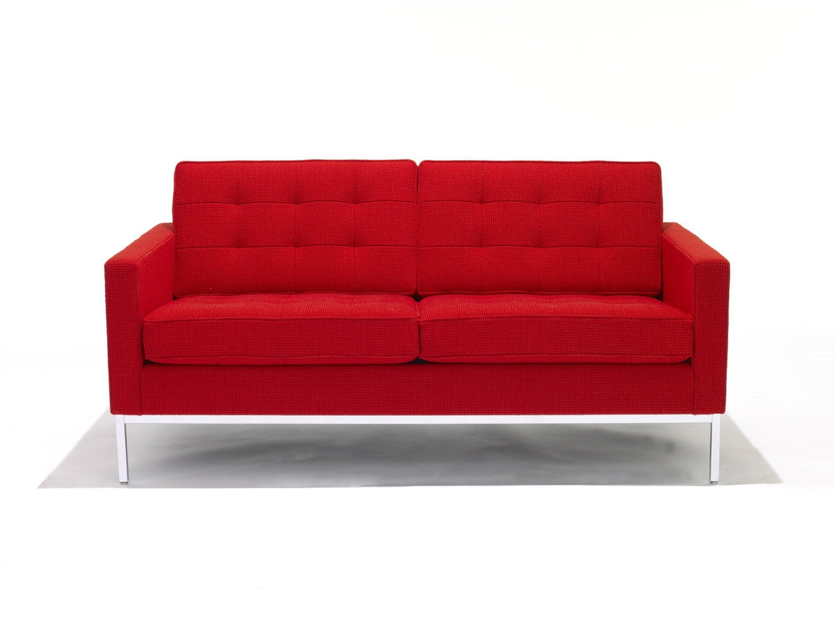 Buy The Knoll Studio Knoll Florence Knoll Two Seater Sofa At Nest Regarding Florence Knoll Fabric Sofas (Image 4 of 15)