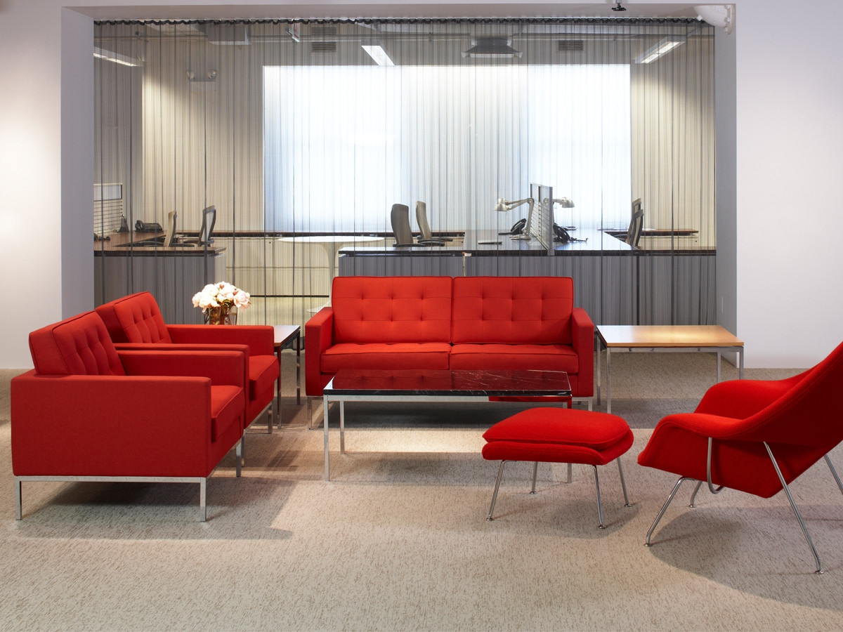 Buy The Knoll Studio Knoll Florence Knoll Two Seater Sofa At Nest With Regard To Florence Knoll Fabric Sofas (Image 5 of 15)