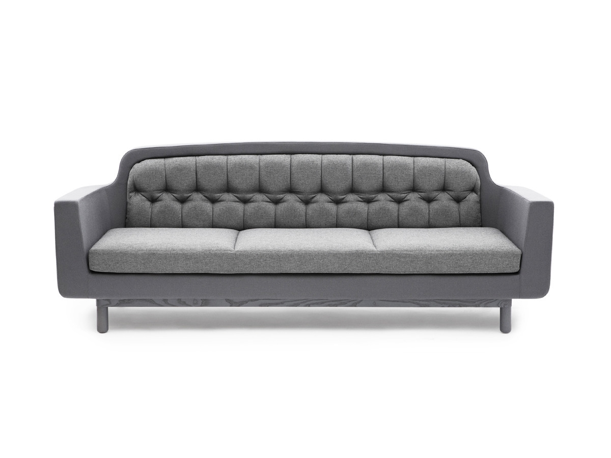 Buy The Normann Copenhagen Onkel Three Seater Sofa At Nestcouk Within Three Seater Sofas (Image 9 of 15)