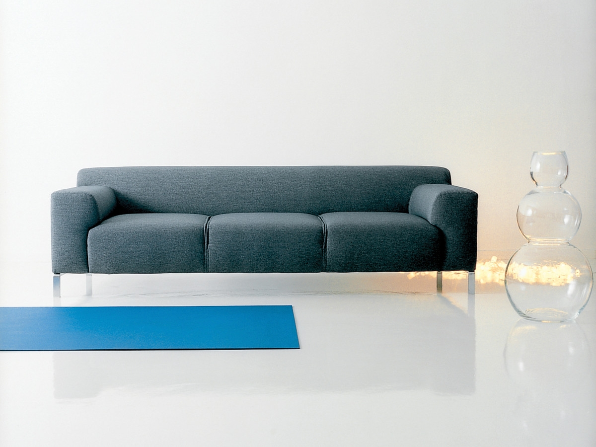 Buy The Zanotta 1323 Greg Three Seater Sofa At Nestcouk Intended For Three Seater Sofas (Image 11 of 15)