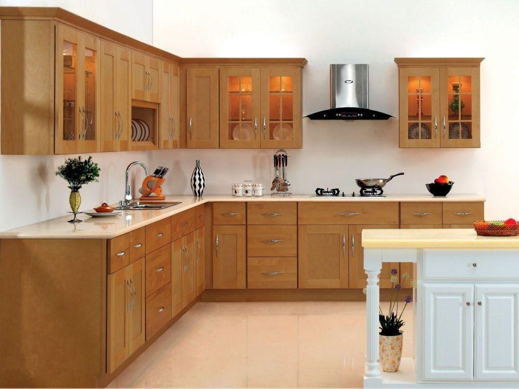 Cabinet Doors Brown Maple Wood Kitchen Cupboard Door Pulls Intended For White Kitchen Cupboard Doors (Image 3 of 25)