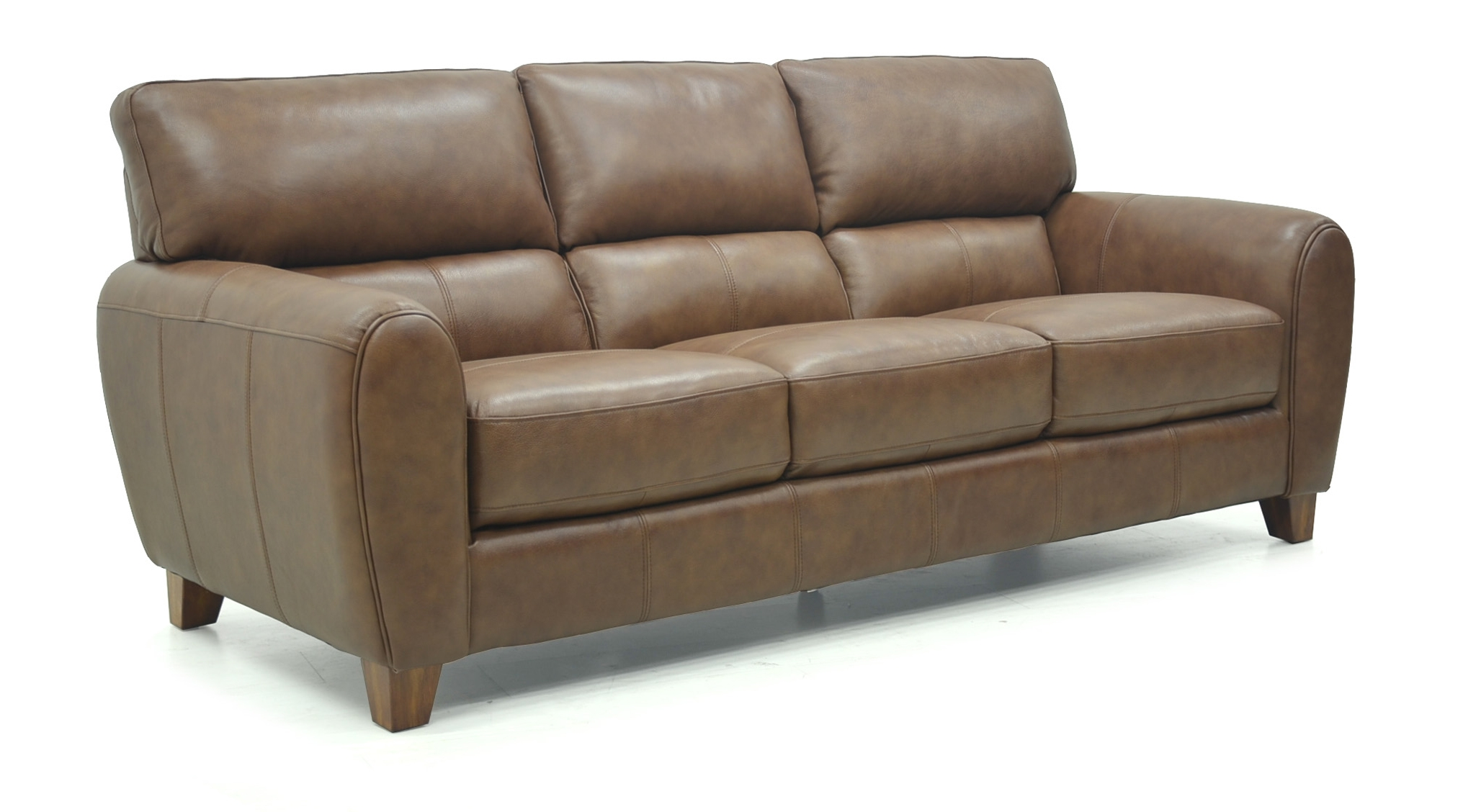 Canterbury Leather Sofa And Chair Range Pertaining To Canterbury Leather Sofas (Image 5 of 15)