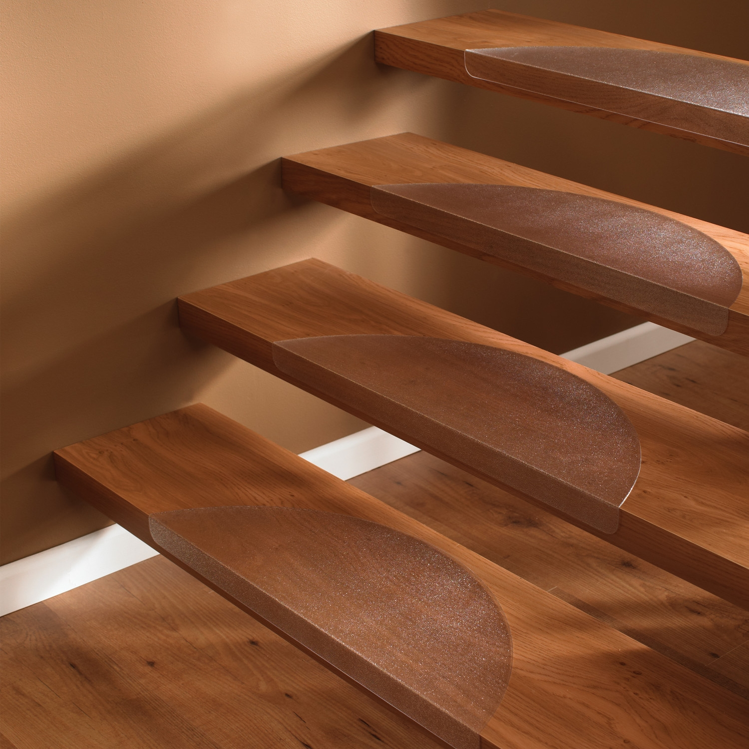 Carpet On Stairs Safety Carpet Stair Treads Non Slip Set Of 7 Within Non Slip Carpet Stair Treads Indoor (Image 2 of 15)