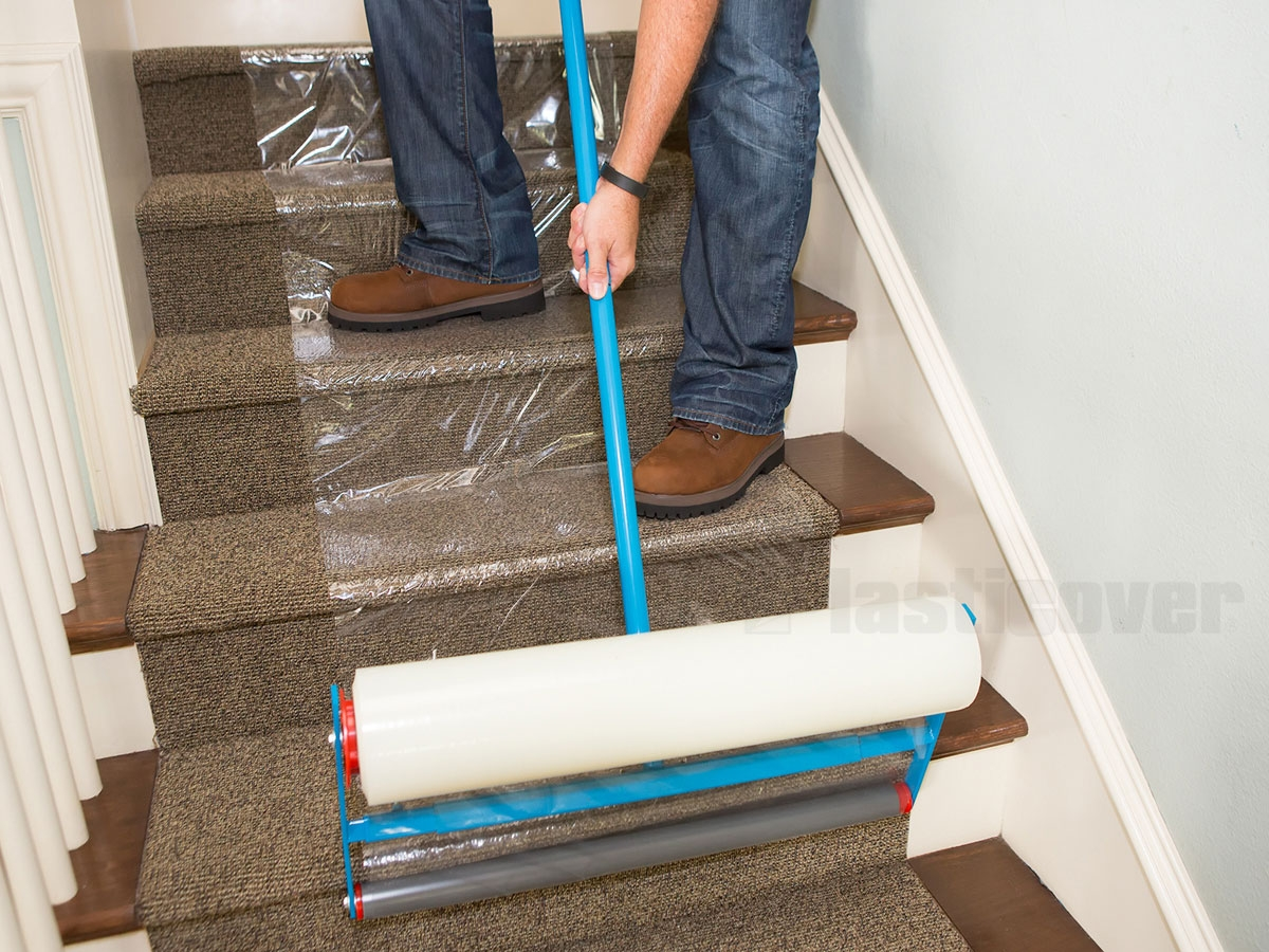 Carpet Protection Film For Carpet Protector Mats For Stairs (Image 8 of 15)