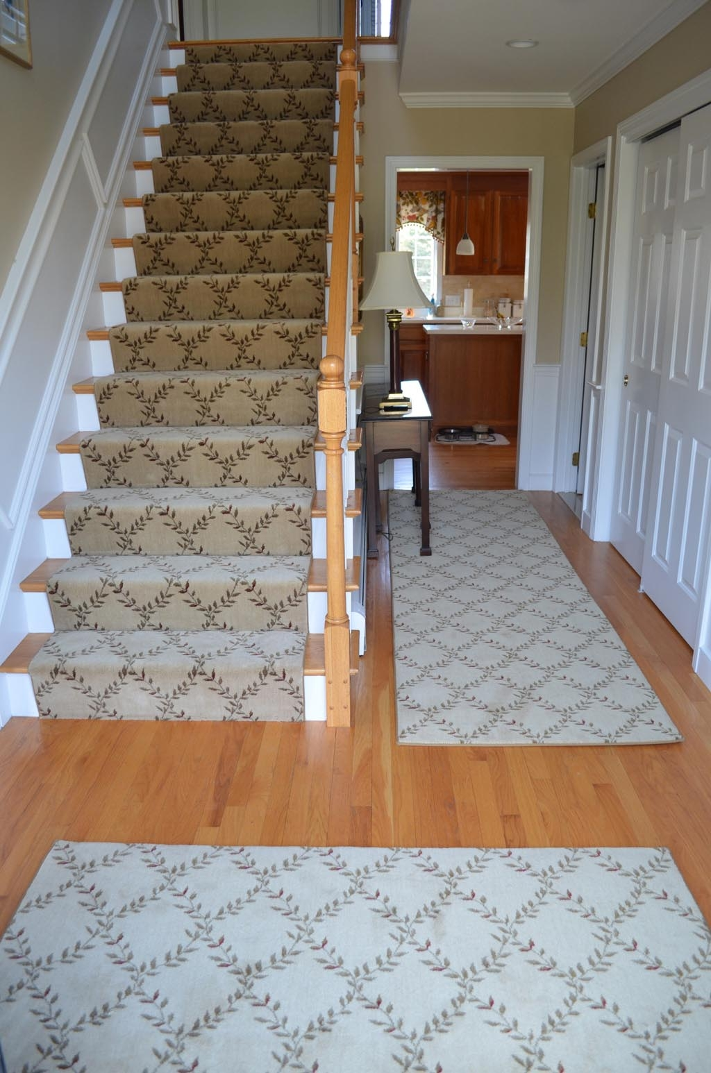 Carpet Runners For Stairs Carpet Runners Monochrome Wool Carpet Pertaining To Rugs For Staircases (Image 3 of 15)