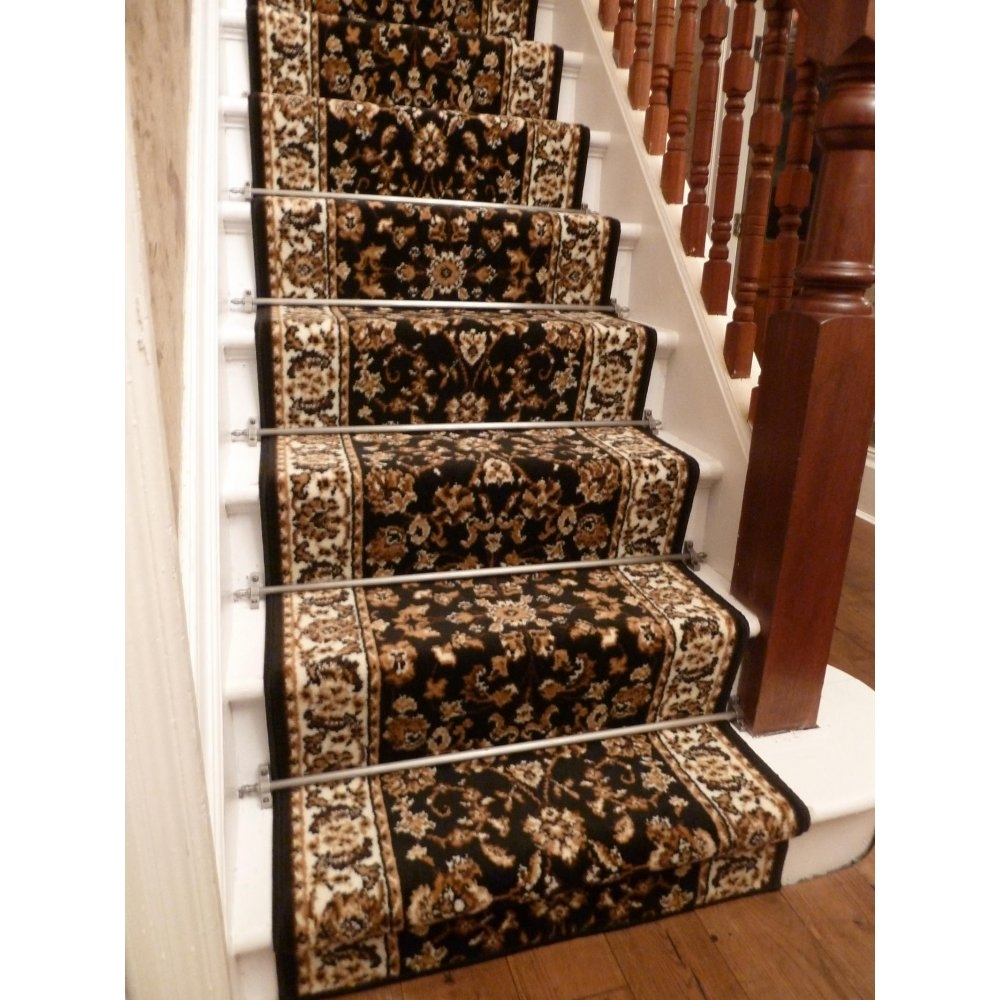 Carpet Runners For Stairs Stair Design Ideas Pertaining To Oriental Carpet Stair Treads (View 15 of 15)