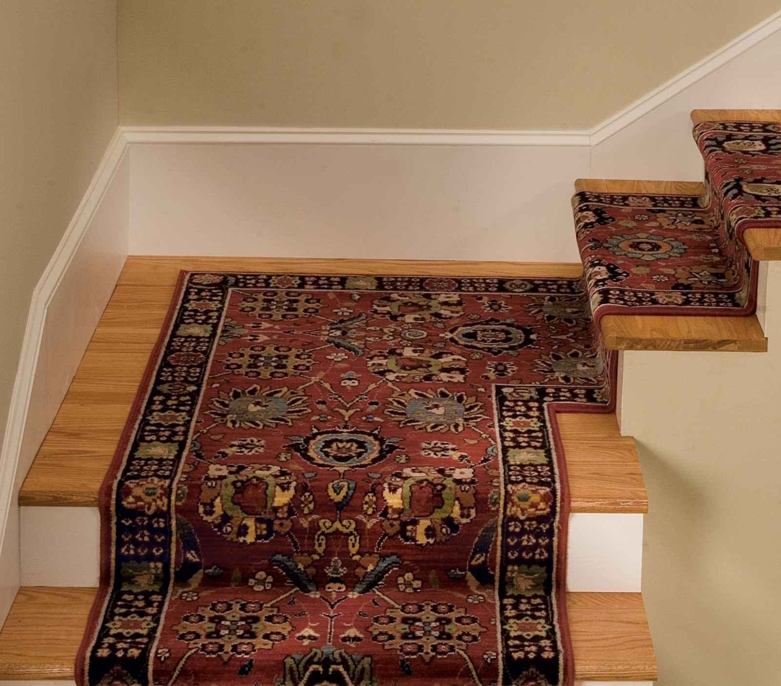 Carpet Stair Runner For Home New Home Pinterest Stair Treads Throughout Oriental Rug Stair Treads (Image 4 of 15)