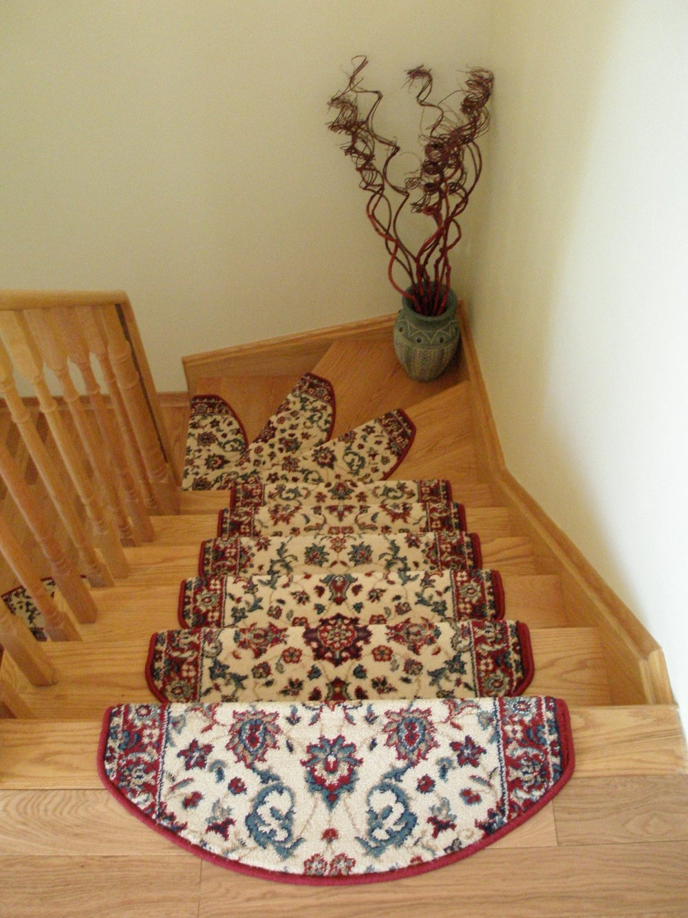 Carpet Stair Treads Stair Mats Stair Rugs Regarding Stair Tread Rugs For Carpet (Image 4 of 15)