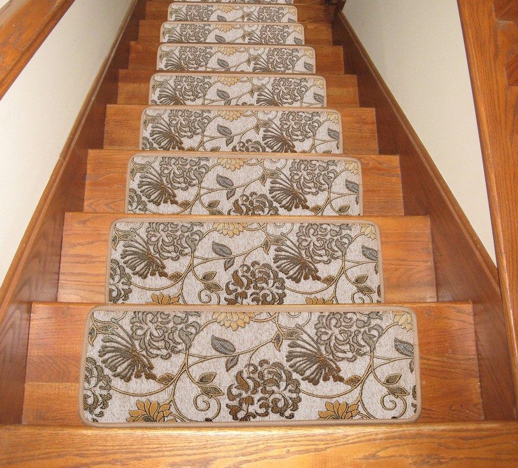 Carpet Stair Treads Stunning Rug Depot Premium Carpet Stair With Rubber Backed Stair Tread Rugs (View 14 of 15)