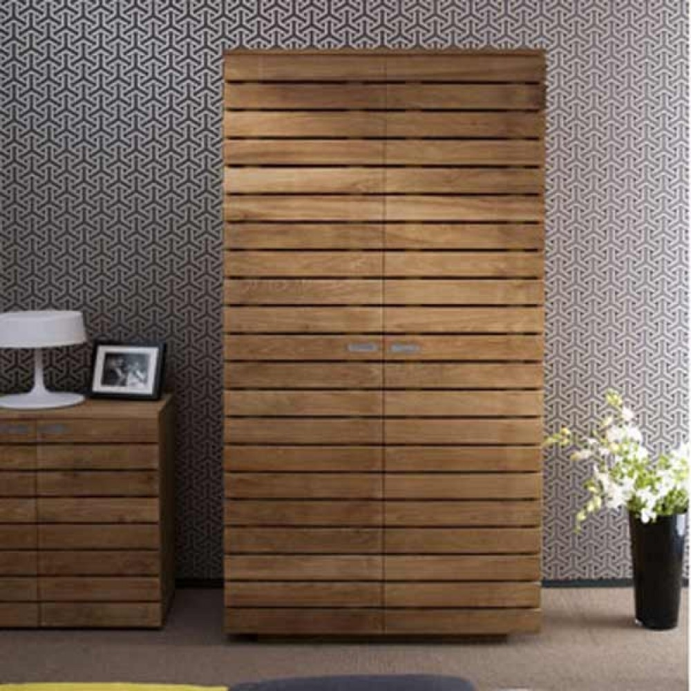 Casateak Custom Made Solid Wood Wardrobes Built In Wardrobes In Solid Wood Built In Wardrobes (Image 5 of 15)