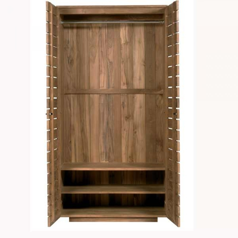 Casateak Custom Made Solid Wood Wardrobes Built In Wardrobes With Regard To Solid Wood Built In Wardrobes (Image 7 of 15)