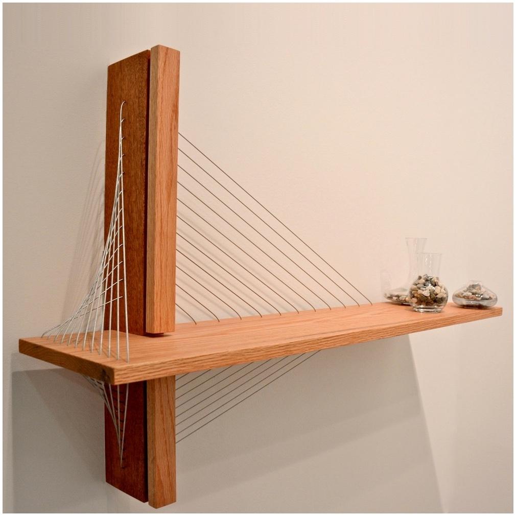 Ceiling Suspended Glass Shelf Shelving System Hanging Contemporary Regarding Glass Suspension Shelves (Image 2 of 15)