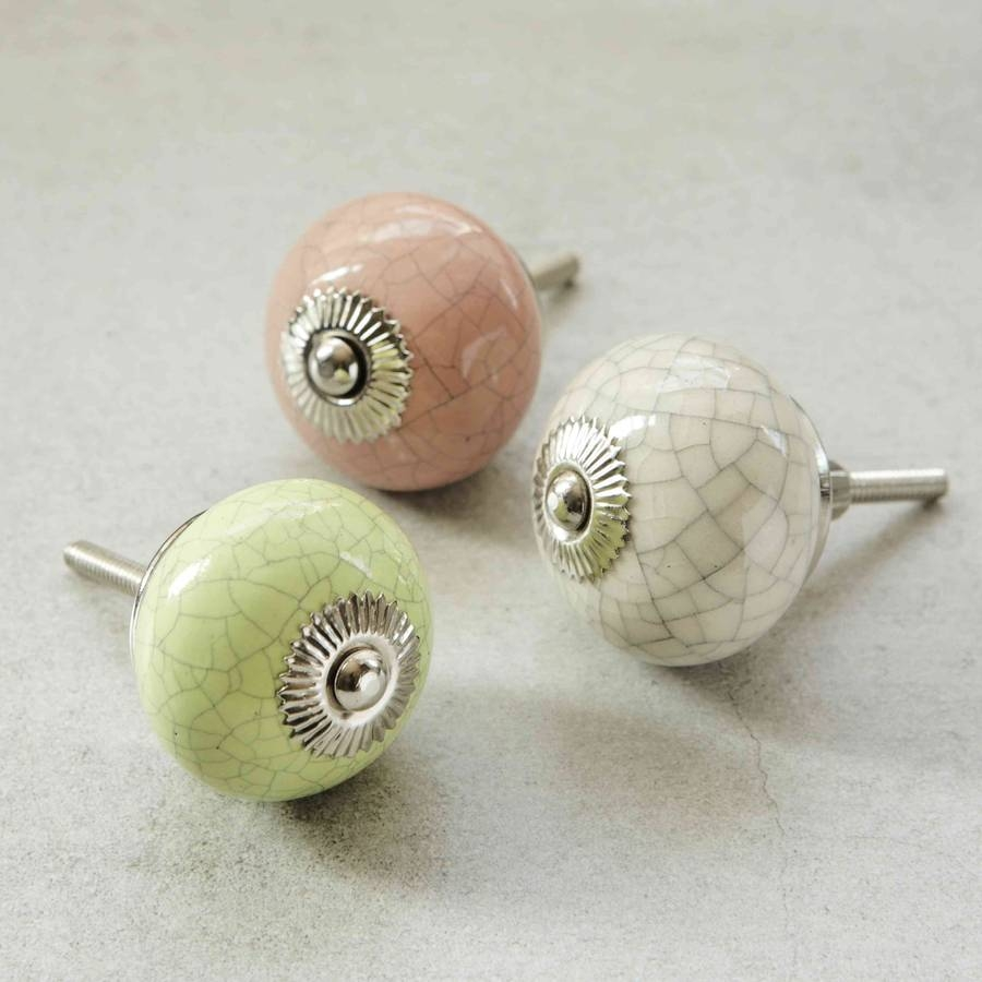 Ceramic Cabinet Knobs Nz Beautiful Design Ceramic Knob With White Throughout Porcelain Cupboard Knobs (Image 7 of 25)