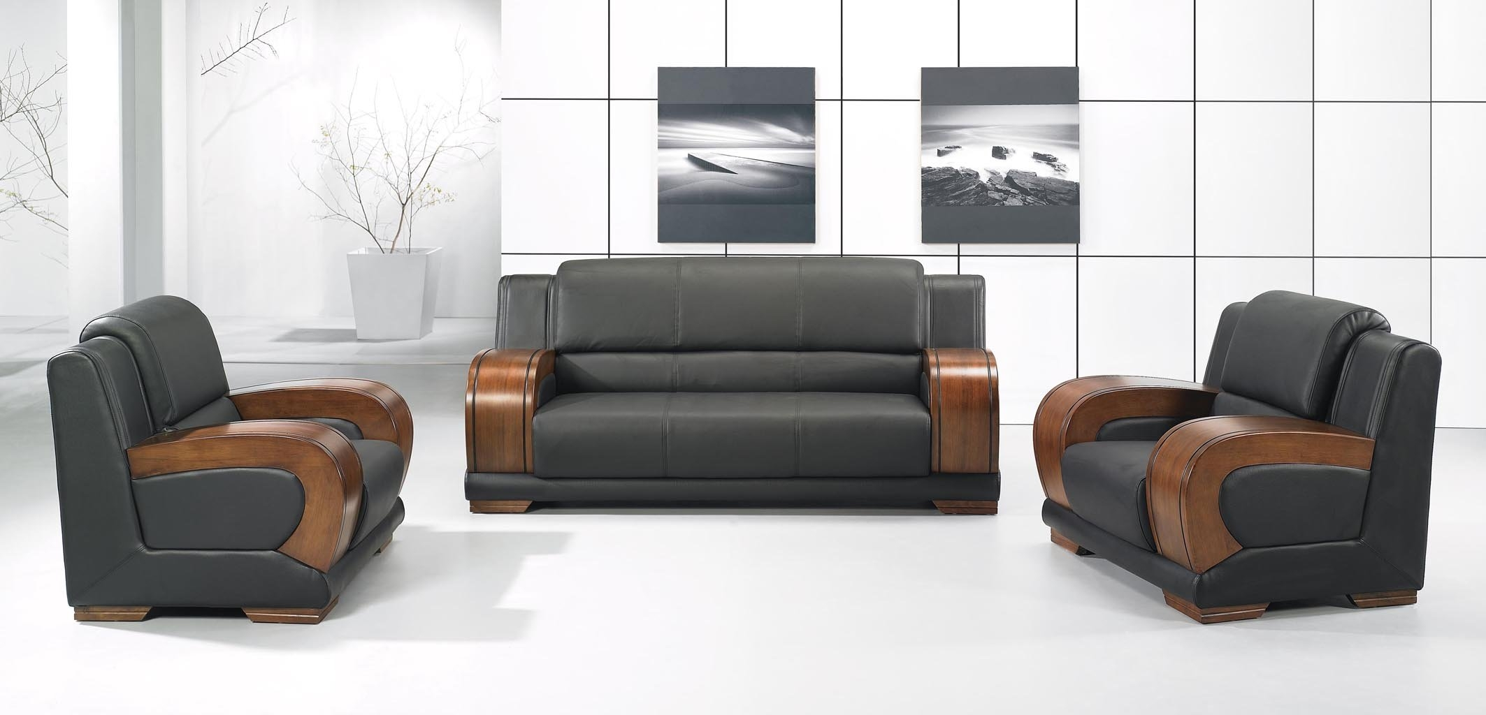 Chair Office Sofa Chair Popular Leather Office Sofa Buy Cheap Throughout Office Sofa Chairs (Image 4 of 15)