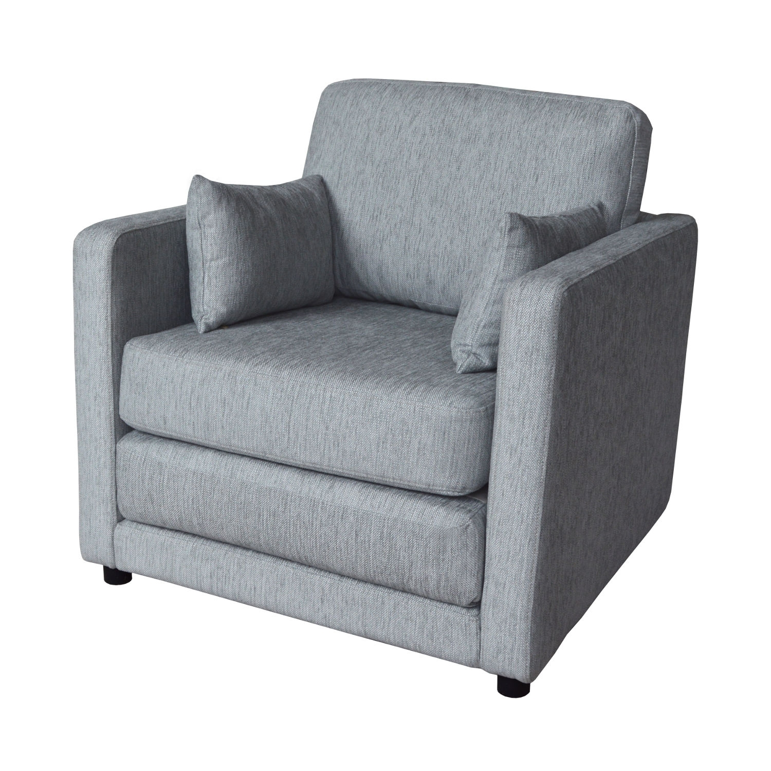 Chair Sofa Sleeper Chair Klaussner Tilly Small Sleeper Sofa With With Single Seat Sofa Chairs (View 15 of 15)
