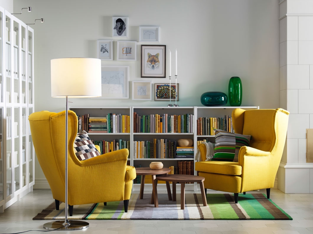 Chairs For Living Room Ikea Choice Living Room Gallery Living Inside Yellow Sofa Chairs (Photo 10 of 15)