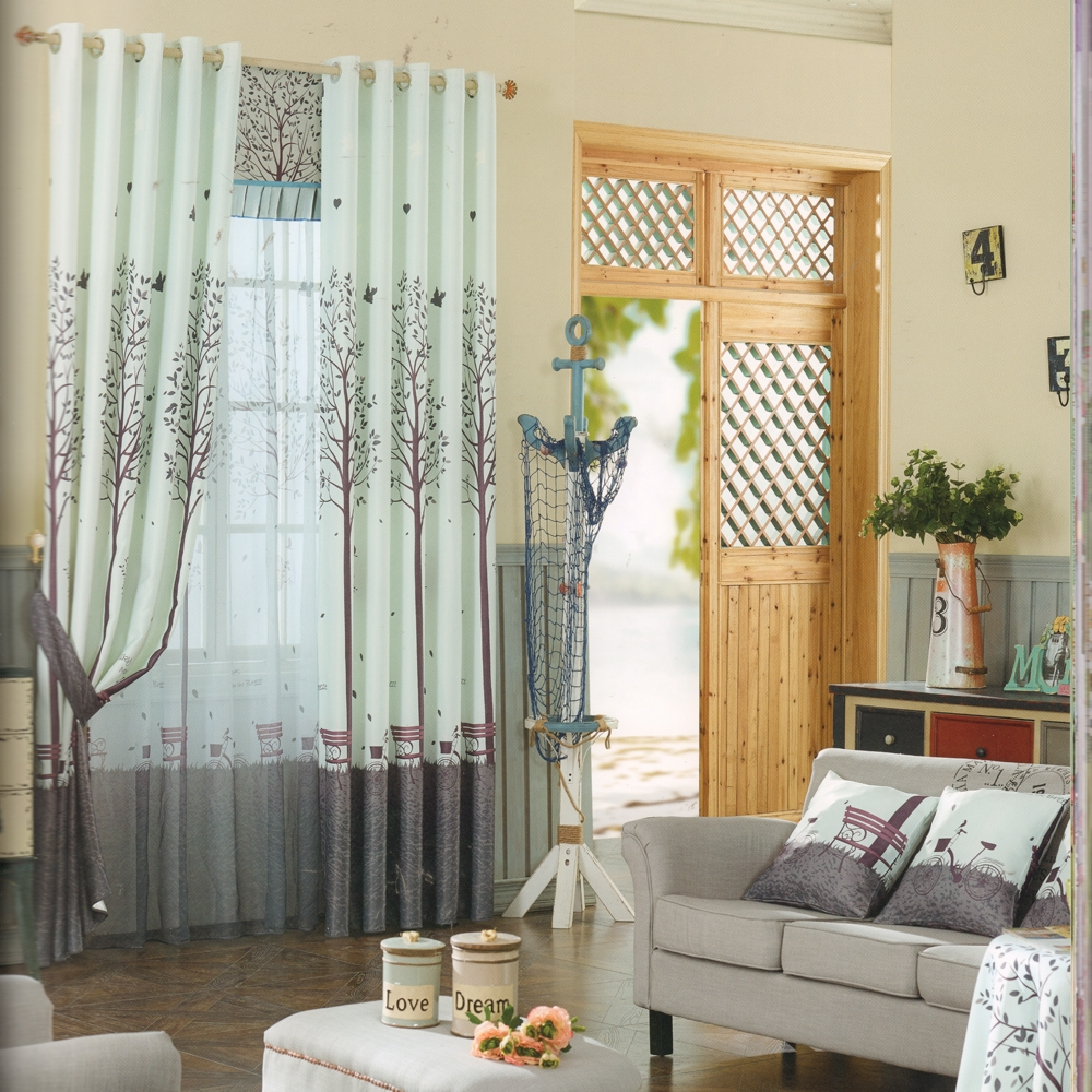 Cheap Custom Curtains Polycotton Blend Fabric With Cheap Custom Curtains (View 3 of 25)