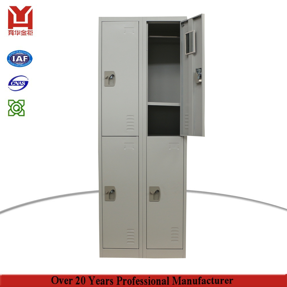 Cheap Price 4 Door Steel Storage Cabinet Godrej High Quality Regarding Metal Wardrobes (View 8 of 25)
