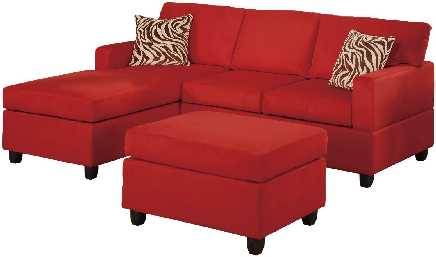 Cheap Red Couches Pertaining To Red Sofas And Chairs (Image 4 of 15)