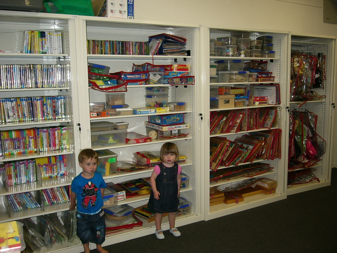 Check Out Our New Cupboards Fun Games Toy Library For Library Cupboards (Image 2 of 15)